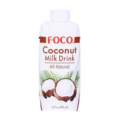 Кокосовый молочный напиток FOCO, 330 мл, Tetra Pak