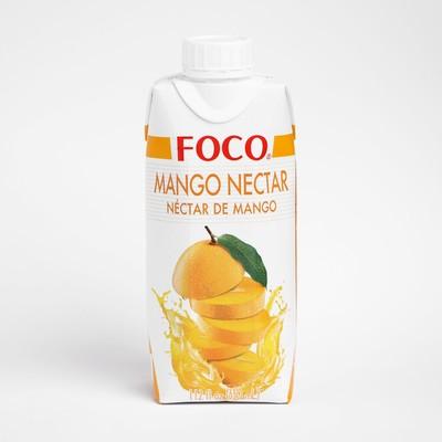 Нектар манго FOCO, 330 мл Tetra Pak