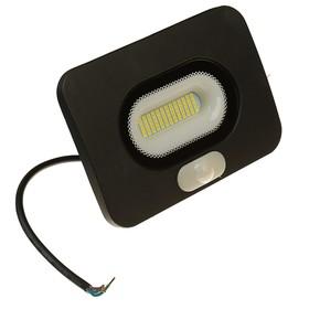 Светодиодный прожектор с датчиком движения WOLTA, 30 Вт, 5500K, WFL-30W/05s Ош