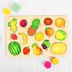 """Развивающая доска """"Большие фрукты"""""""