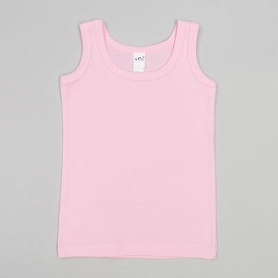 Майка для девочки, цвет розовый, рост 110-116 см (32)