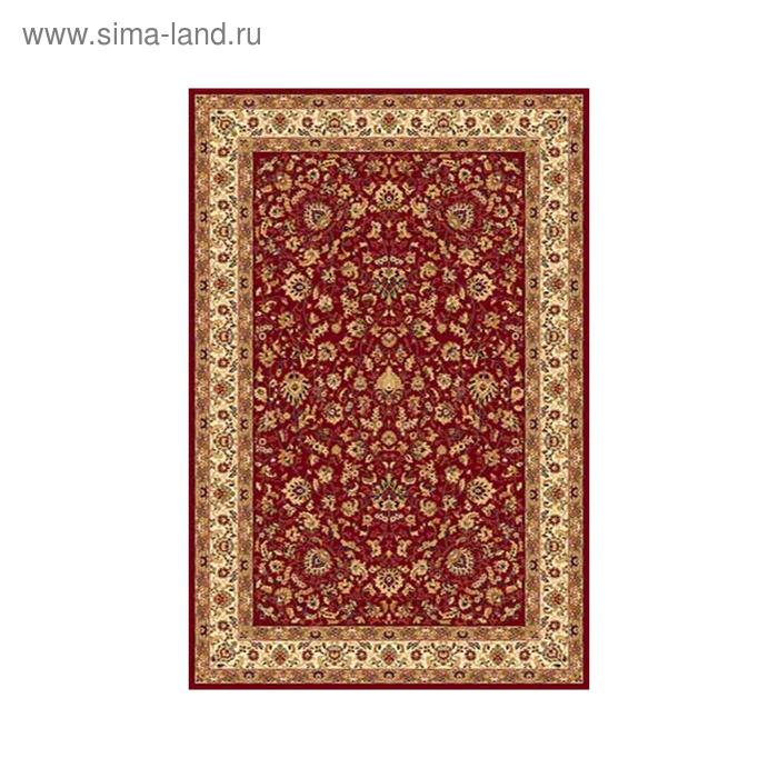 Ковёр Heat-set IZMIR 5471, 1,5*4 м, прямоугольный, RED