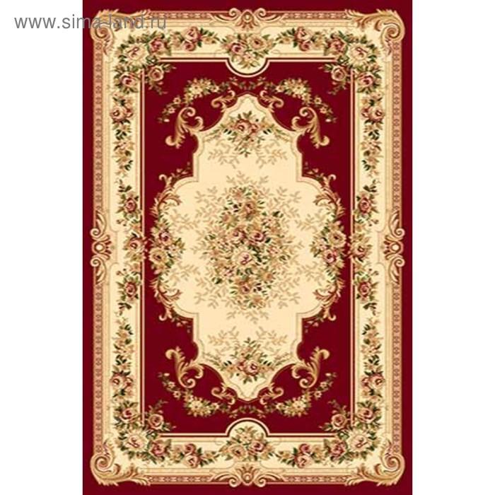 Ковёр Хит-Сет ПП VALENCIA 4015, 0,8*1,5 м, прямоугольный, RED