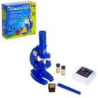 Микроскоп детский: 3 объектива, фокусировка, подсветка