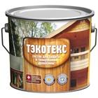 Состав ТЭКОТЕКС для защиты и тонирования древесины тик, банка 0,6 кг