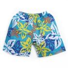 """Шорты детские """"Пляж"""", рост 134-140 см (9-10 лет), цвет бирюзовый"""