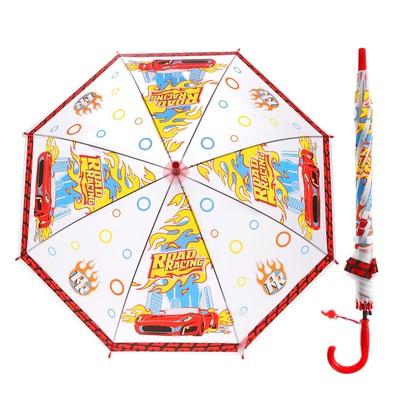 """Зонт детский прозрачный """"Ралли"""", r= 50 см"""