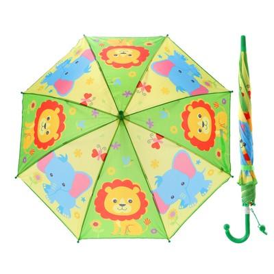 "Зонт детский ""Зоопарк"", r=45 см, со свистком"