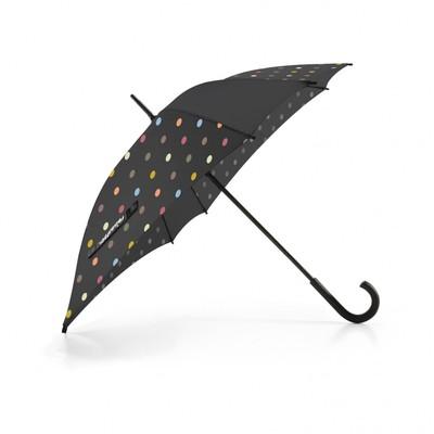 Зонт-трость, размер 85 x 90 x 85 см, принт горошек YM7009