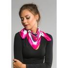 """Платок женский """"Лукреция"""", размер 60*60 см, цвет розовый"""