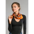 """Платок женский """"Роберта"""", размер 60*60 см, цвет оранженый"""
