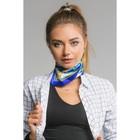 """Платок женский """"Элеттра"""", размер 60*60 см, цвет синий"""