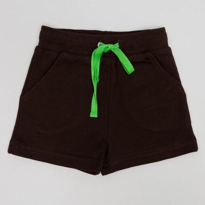 Шорты для мальчика , рост 74 (48) см, цвет кофейный 10225_М