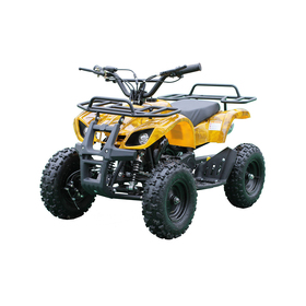 Детский электро квадроцикл MOTAX ATV Х-16 1000W, желтый камуфляж Ош