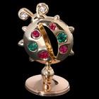 Сувенир «Божья коровка», 2×2,5×4 см, с кристаллами Сваровски