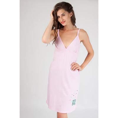 Сорочка женская 80090 цвет розовый, р-р 44