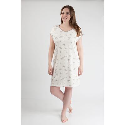 Сорочка женская 80185 цвет молочный, р-р 46