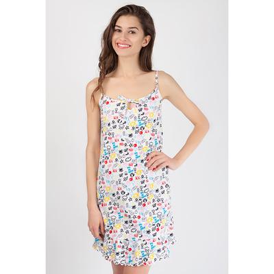 Сорочка женская 80269 цвет разноцветный, р-р 42