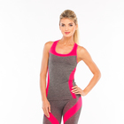 Майка женская спортивная JC002, цвет розовый, р-р 48-50 (L)