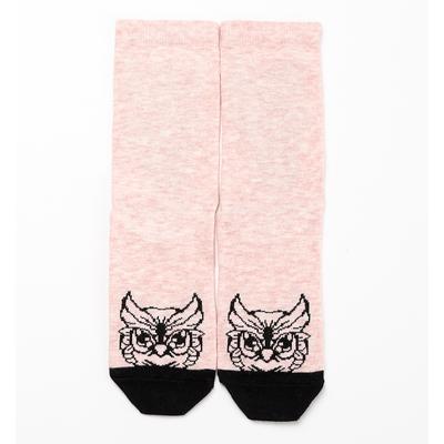 Носки женские 211K-606 (7211K) цвет розовый меланж, р-р 25