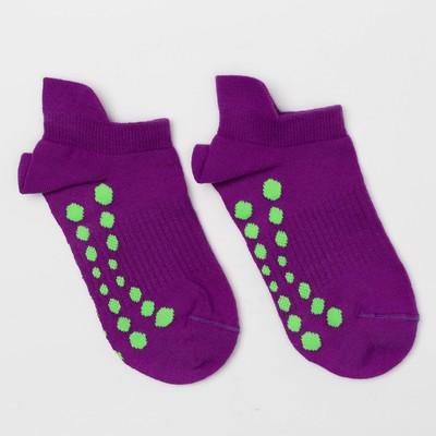 Носки женские 320C-621 (8320C) цвет фиолетовый неон, р-р 23