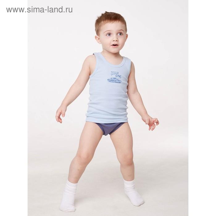 Майка для мальчика, рост 146/152 см, цвет микс 103-007-00001