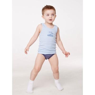 Майка для мальчика, рост 122/128 см, цвет микс