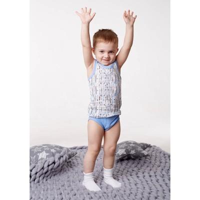 Майка для мальчика, рост 110/116 см, цвет микс
