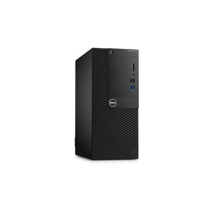 ПК Dell Optiplex 3050 MT,i3 6100,4Gb,500Gb,HDG530,DVDRW,Linux,кл,мышь,черный
