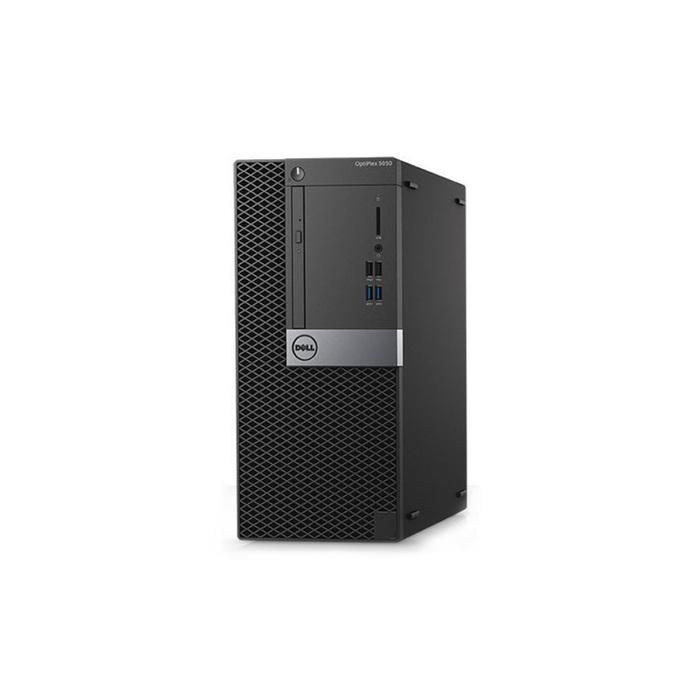 ПК Dell Optiplex 5050 MT, i7 7700,8Gb,1Tb,HDG630,DVDRW,Linux,кл,мышь,черно-серебристый