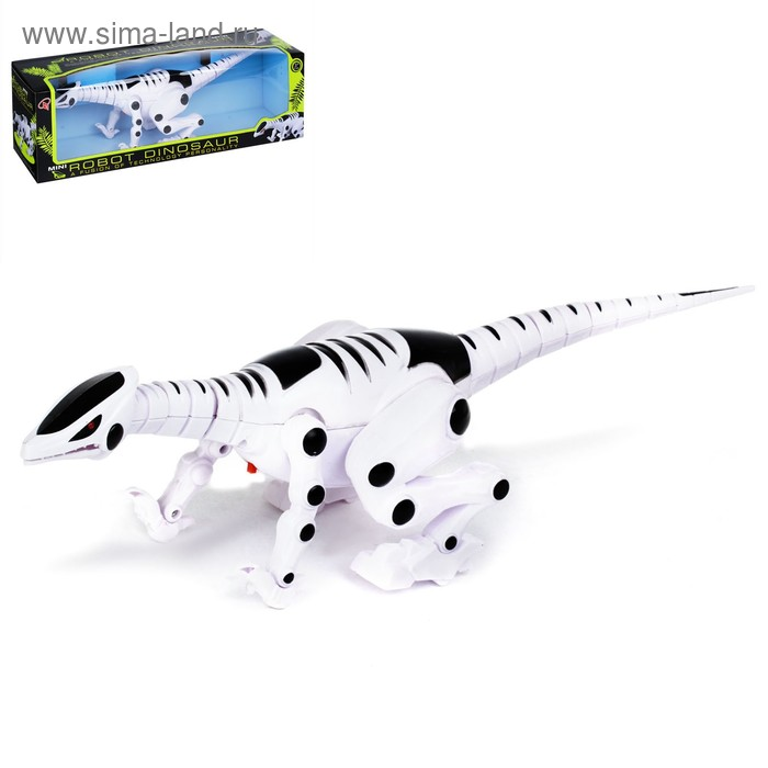 """Динозавр """"Рекс"""" , световые и звуковые эффекты, работает от батареек"""