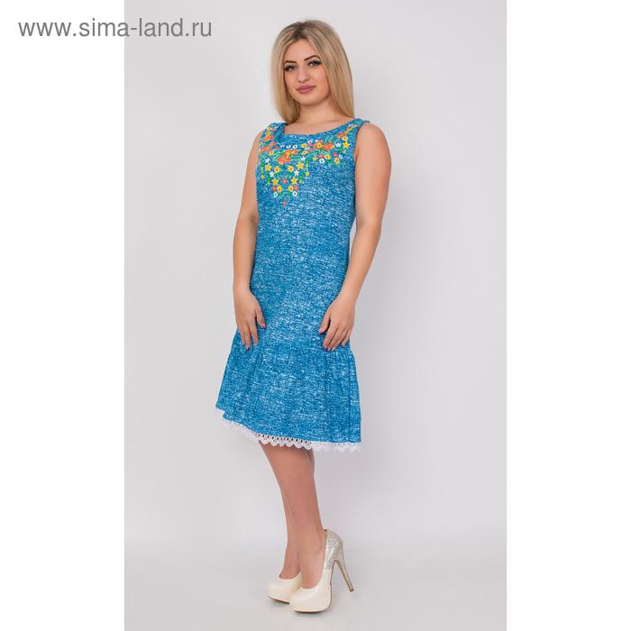 Туника женская Т-708 цвет МИКС, р-р 50