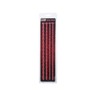 Набор уретральных зондов TOYFA Black&Red, 4 шт, цвет красный