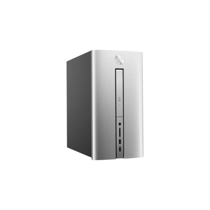 ПК HP Pavilion 570-p008ur,i5 7400,4Gb,1Tb,HDG630,DVDRW,Win 10,кл,мышь,черно-серебристый