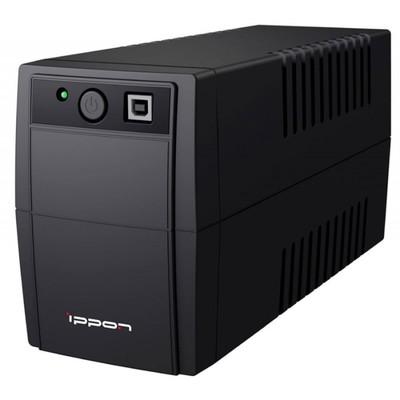 Источник бесперебойного питания Ippon Back Basic 650, 360Вт, 650ВА, черный