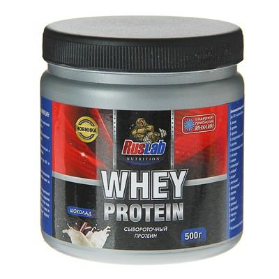 Протеин RusLabNutrition Whey Protein 50% (500г), шоколад