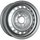 Диск TREBL 53A35D 5.5x14/4x100 ET35 D57.1 Silver