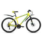 "Велосипед 26"" Forward Sporting 2.0 disc, 2018, цвет желтый, размер 19"""