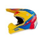 Шлем кросс O'Neal 5 Series RACE, желто/красно/синий, размер S
