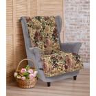 """Накидка на кресло """"Этель"""" Цветочные грёзы 70х160 см,"""