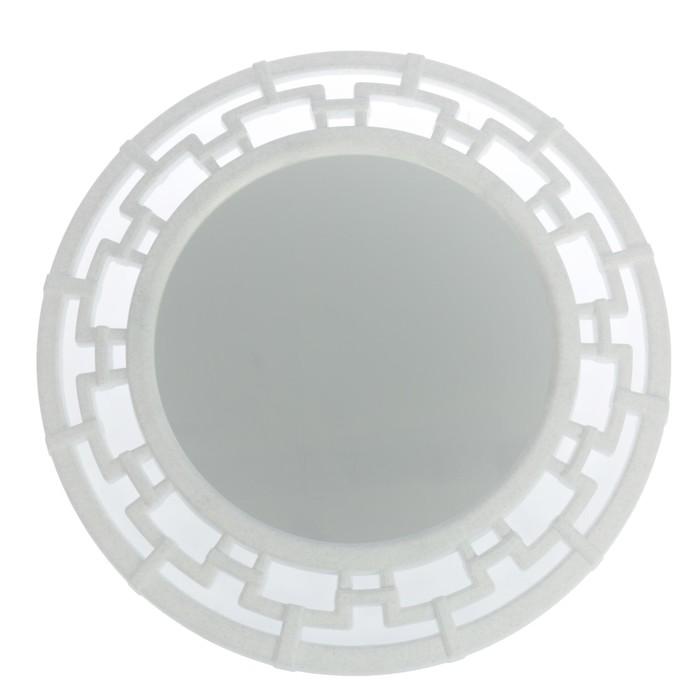 """Зеркало круглое """"Эллада"""", цвет мрамор"""
