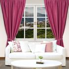 "Штора портьерная ""Этель"" 135х250, цвет розовый, блэкаут, 100% п/э"