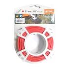 Струна STIHL 0000 930 2341, круглого сечения, красный, 2.7 мм х 9.8 м
