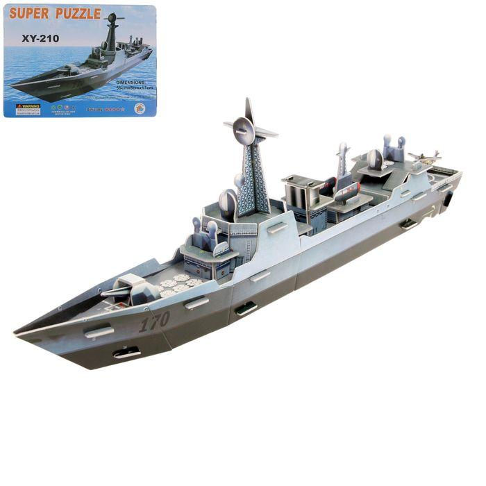 """Конструктор 3D """"Военный корабль"""