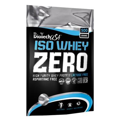 Изолят BioTech iso whey zero без лактозы, шоколад, 500 гр