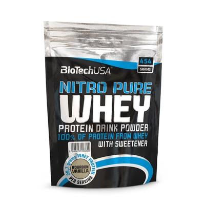 Изолят BioTech Нитро Пьюр Вей, шоколад, 454 гр