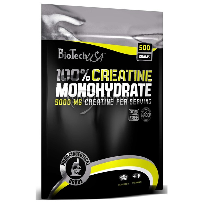 Креатин BioTech Моногидрат (пакет), 500 гр
