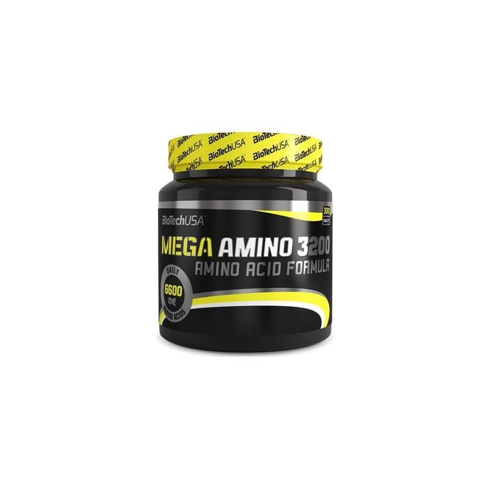 Аминокислоты BioTech Mega Amino 3200, 300 таб