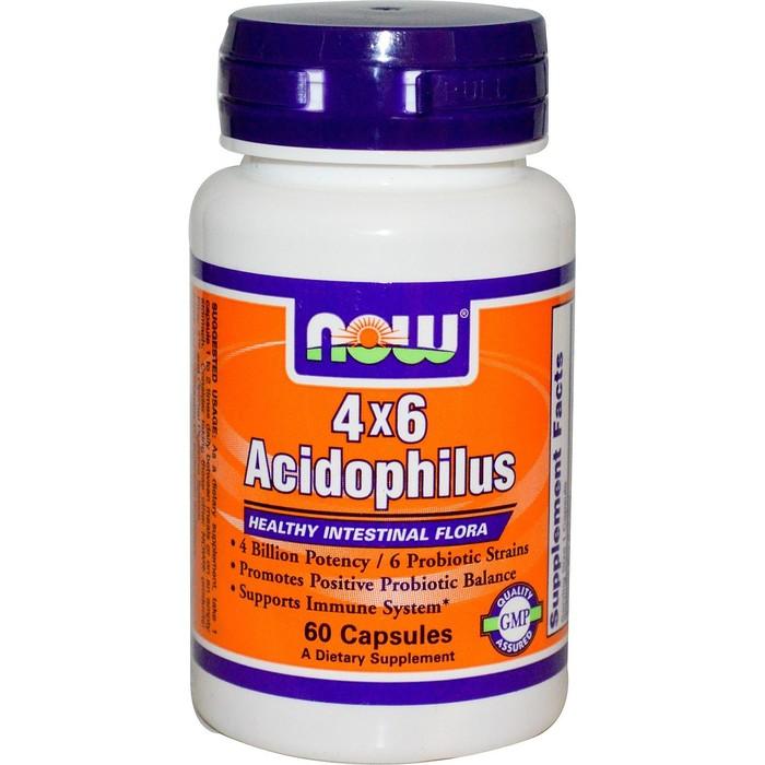 Препарат для печени NOW Ацидофилус, 60 викапс