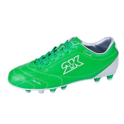 Футбольные бутсы 2K Sport Corado (13 шипов), green/silver, размер 43